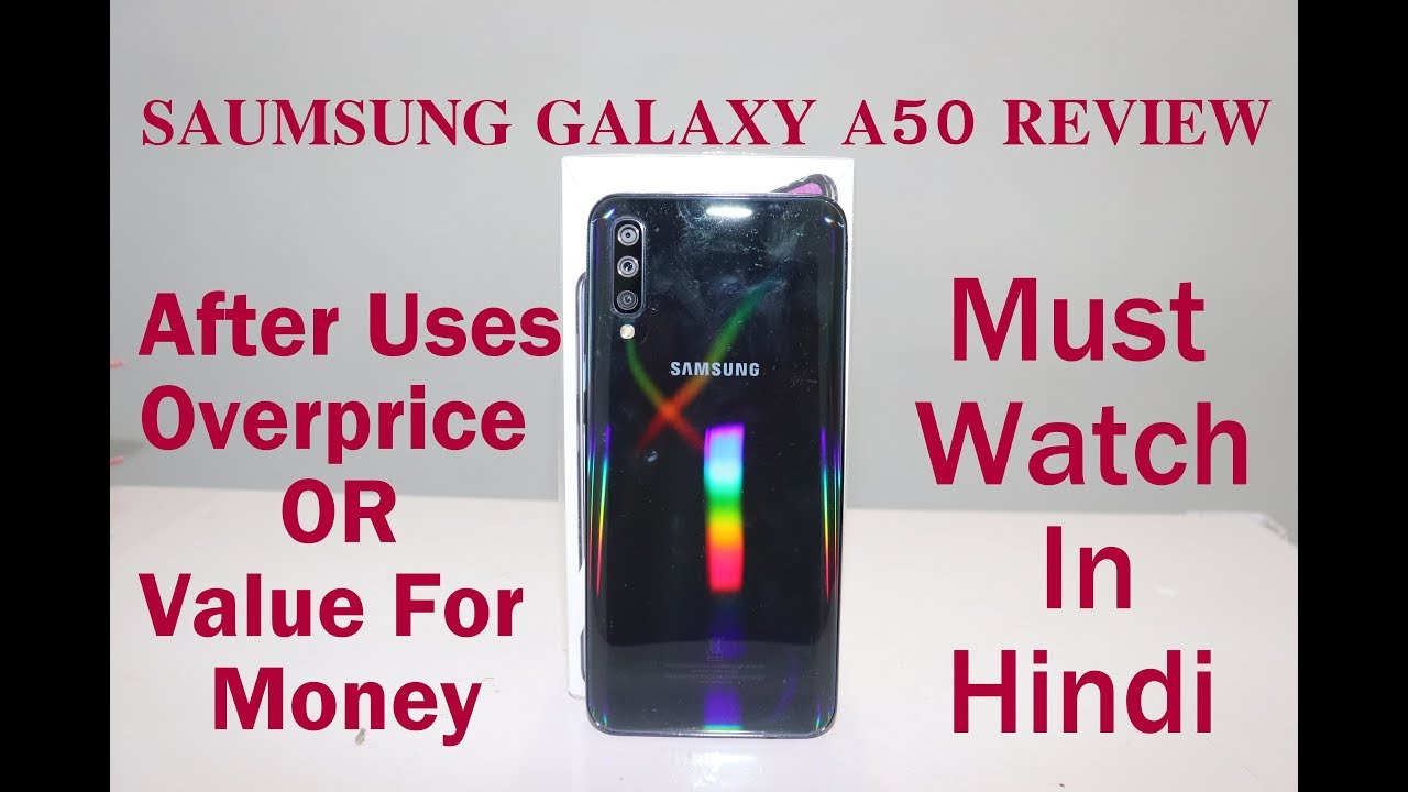 Samsung Galaxy A50 Review After Use