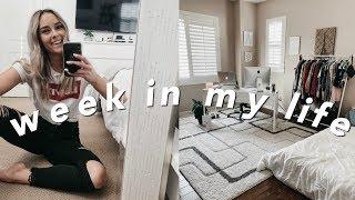 WEEK IN MY LIFE Office Tour Ikea Haul Amp Organization