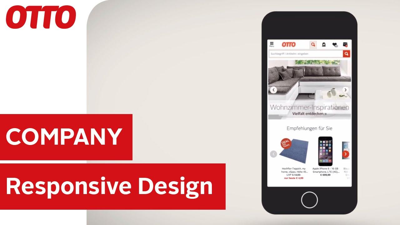 Responsive Design Für Ottode Ein Online Shop Für Alle Geräte
