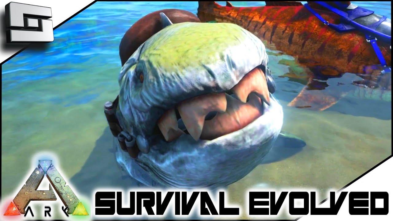 Great ARK: Survival Evolved   TAMING A DUNKLEOSTEUS! S3E88 ( Gameplay )   YouTube