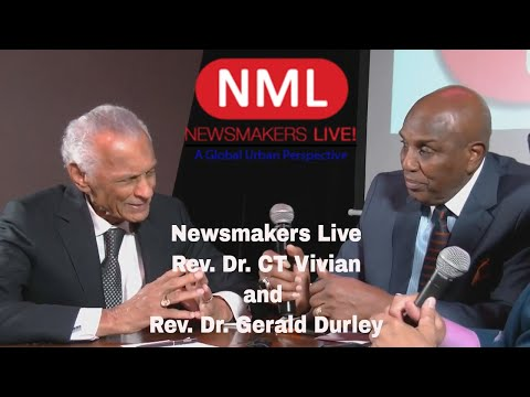Newsmakers Live - Reverand Dr CT Vivian and Rev Dr Gerald Durley