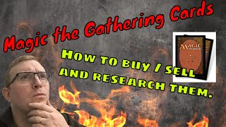 How to buy , Sell and Research magic the Gathering cards - Tom The English Picker Live Stream
