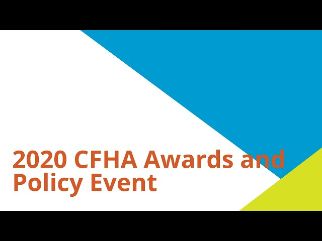 2020 Awards and Policy Event