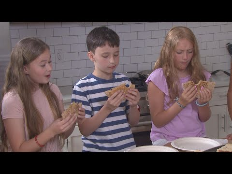 Kids Review Healthy Takes on School Lunch Sandwiches