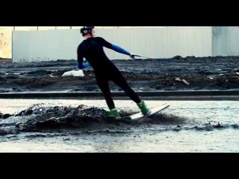 Суровый вейкбординг в Челябинске / Brutal Wakeboarding in Chelyabinsk (Russia)