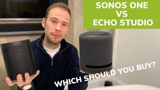 Sonos One vs Amazon Echo Studio: Which Should You Buy?