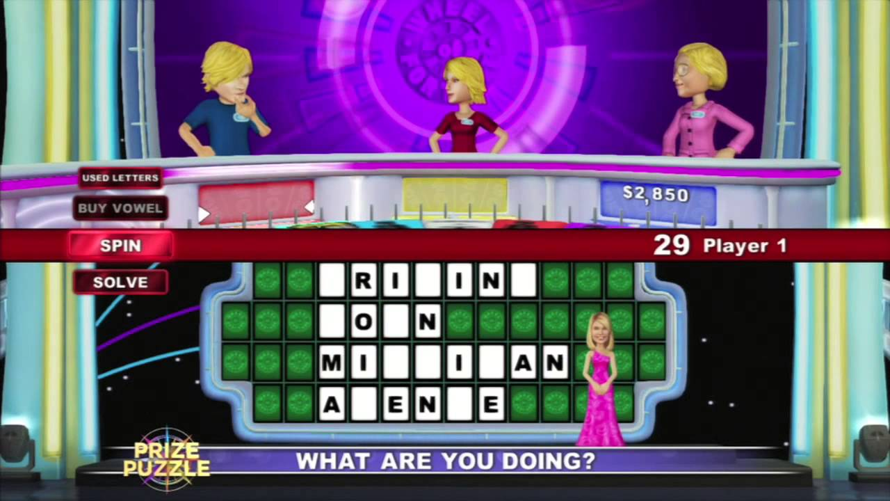 make a wheel of fortune