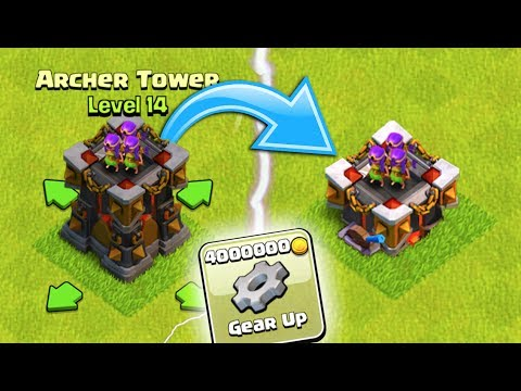 HOW TO GET YOUR ARCHER TOWER GEARED UP IN CLASH OF CLANS!