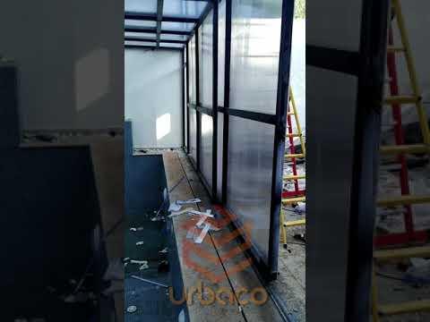 Pergola Motorisé en Polycarbonate - Abris de Piscine 03-