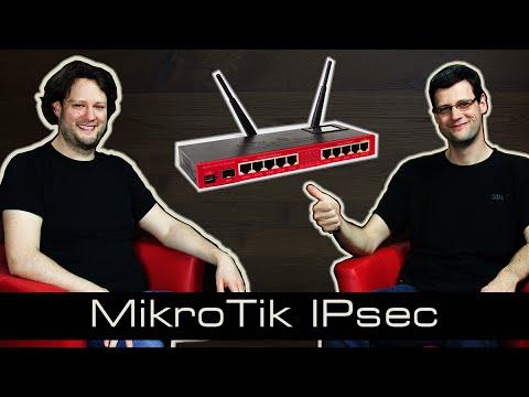 MikroTik Tutorial 20 IPsec [deutsch]