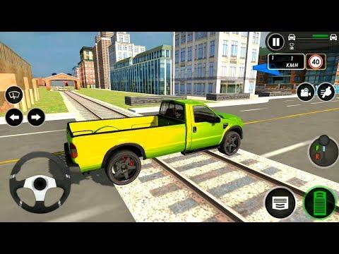 Drawbridge Crossing In Driving School 2019 #3 - Android Gameplay