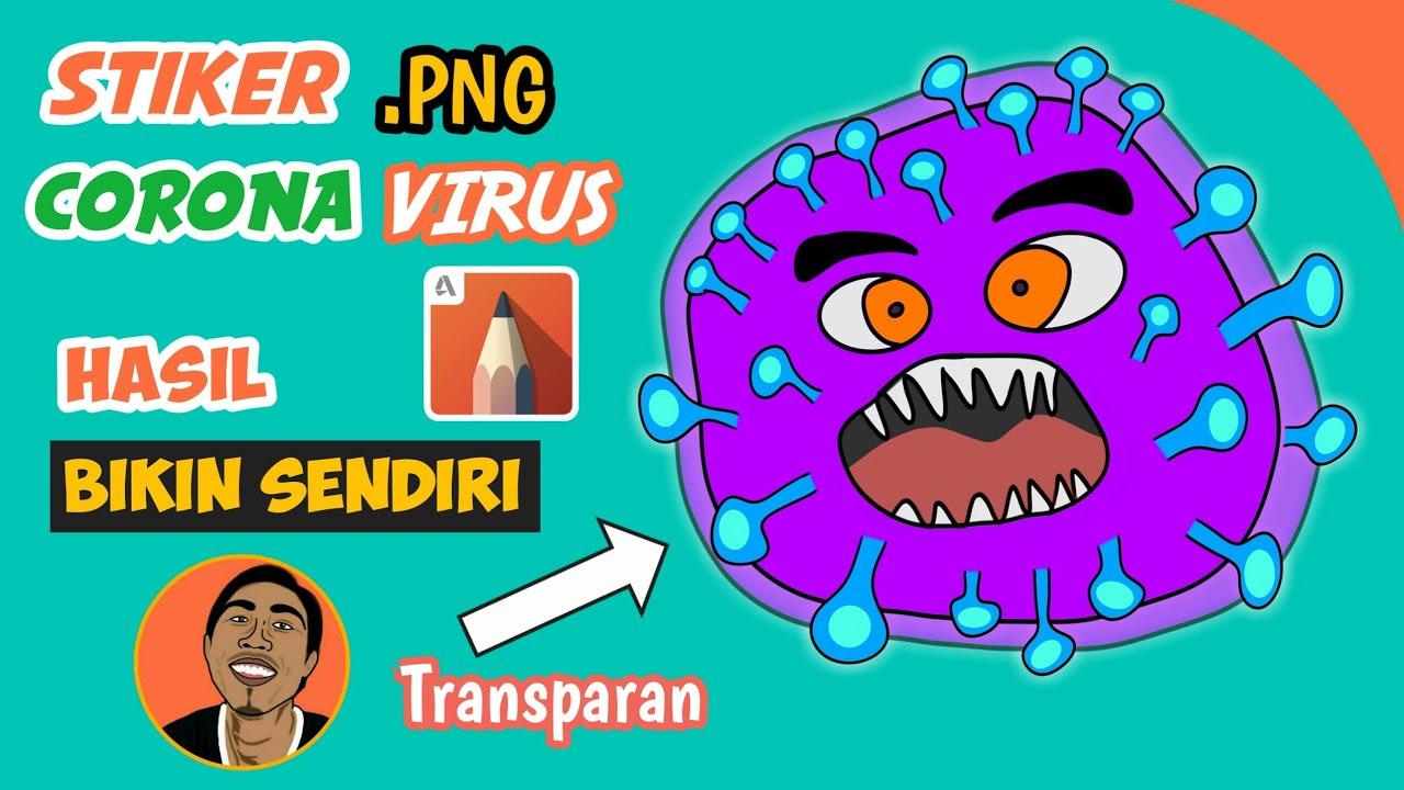 Cara Menggambar Virus Corona Atau Covid-19 di Android ...