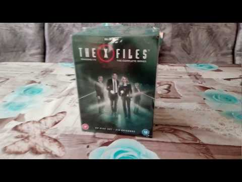 X-files: The Complete Series 1-11 Blu-ray Unboxing