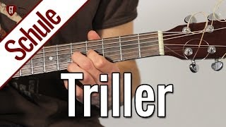 Triller | Gitarrenschule