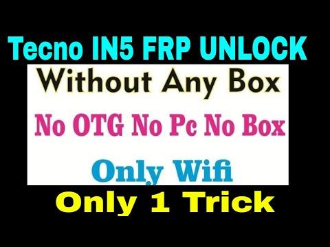Tecno I5 IN5(Tecno Camon I) FRP 7 1 2 Unlock 100% - PakVim net HD