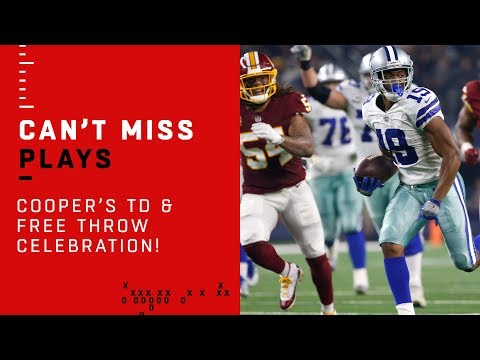 Amari Cooper's TD Catch & Fultz Free Throw Celebration