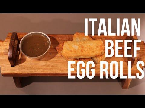 Italian Beef Egg Rolls | SIMPLE MEALS