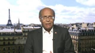 منصف المرزوقي : الرئيس التونسي