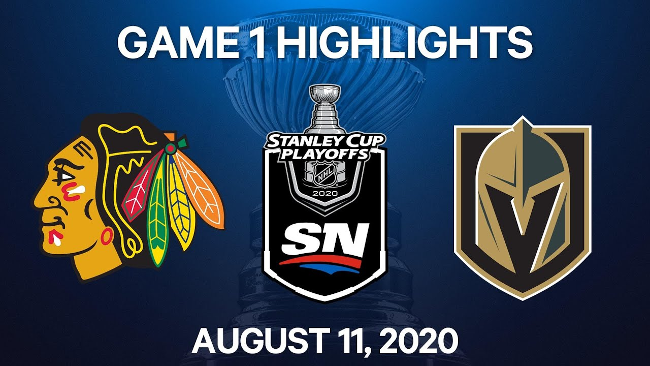 NHL Highlights | Blackhawks vs. Golden Knights, Game 1 – Aug. 11, 2020