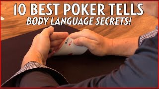 Magician Reveals 10 Best Poker TELLS! - (Reading People & Body Language)