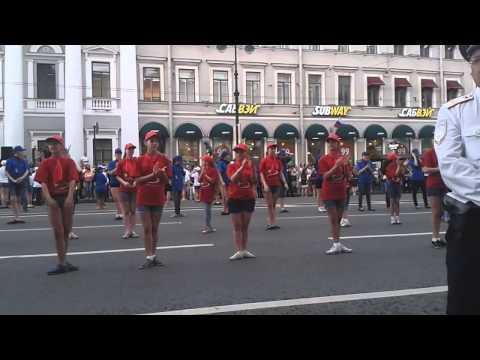 Санкт петербург флеш моб