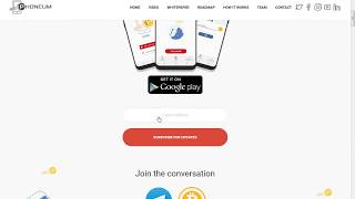 Get Free PHM Token upcoming new cryptocurrency phoneum