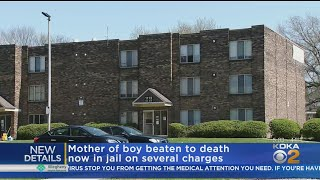 Mother Charged In Beating Death Of Son