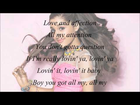 Ariana Grande - Lovin' It (with Lyrics)