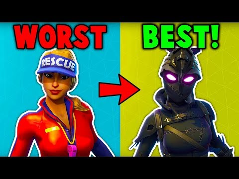 RANKING ALL SEASON 5 SKINS FROM WORST TO BEST! (Fortnite Battle Royale)