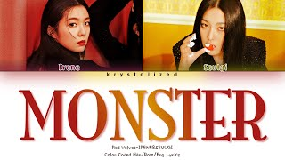 Gambar cover Red Velvet IRENE & SEULGI - Monster [HAN|ROM|ENG Color Coded Lyrics/가사]