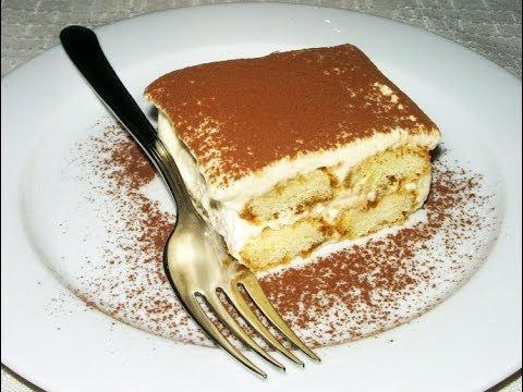 рецепт тирамису с поваром канал кухня