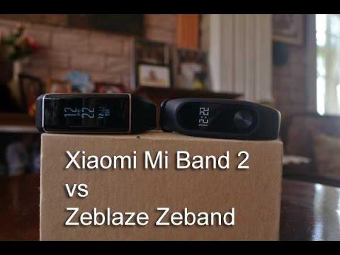Compare Xiaomi Mi Band 2 vs Xiaomi Mi Band H1
