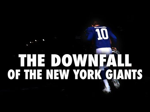 The Downfall Of The New York Giants