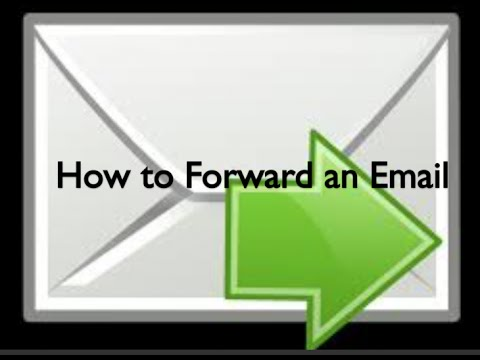 How to Forward an Email