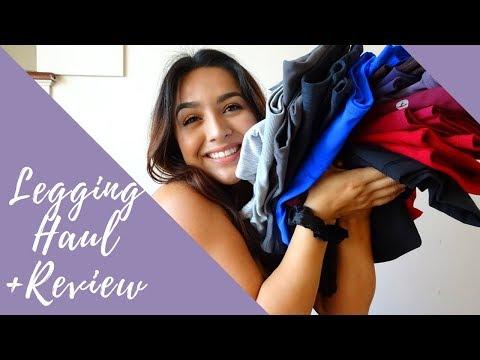 Legging Haul + Review!