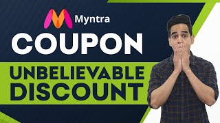 Myntra Coupon: Branded Clothes At Low Price Using Myntra Coupon | Myntra