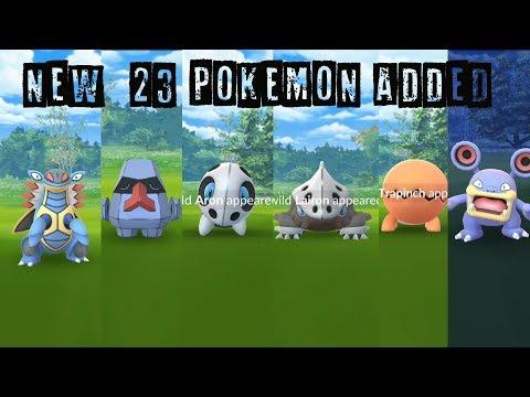 Download Youtube: Catching New 23 Gen 3 Pokemon Discovered in Hoenn Region!