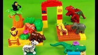 Learn Animals for Kids Children Babies Toddlers | Jungle set for kids | Learning Wild Animals | Kids