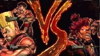 Street Fighter X Tekken - Paul & Law Gameplay