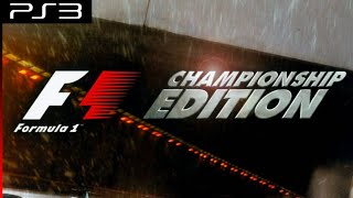Longplay [PS3] Formula One Championship Edition - Part 1 of 2
