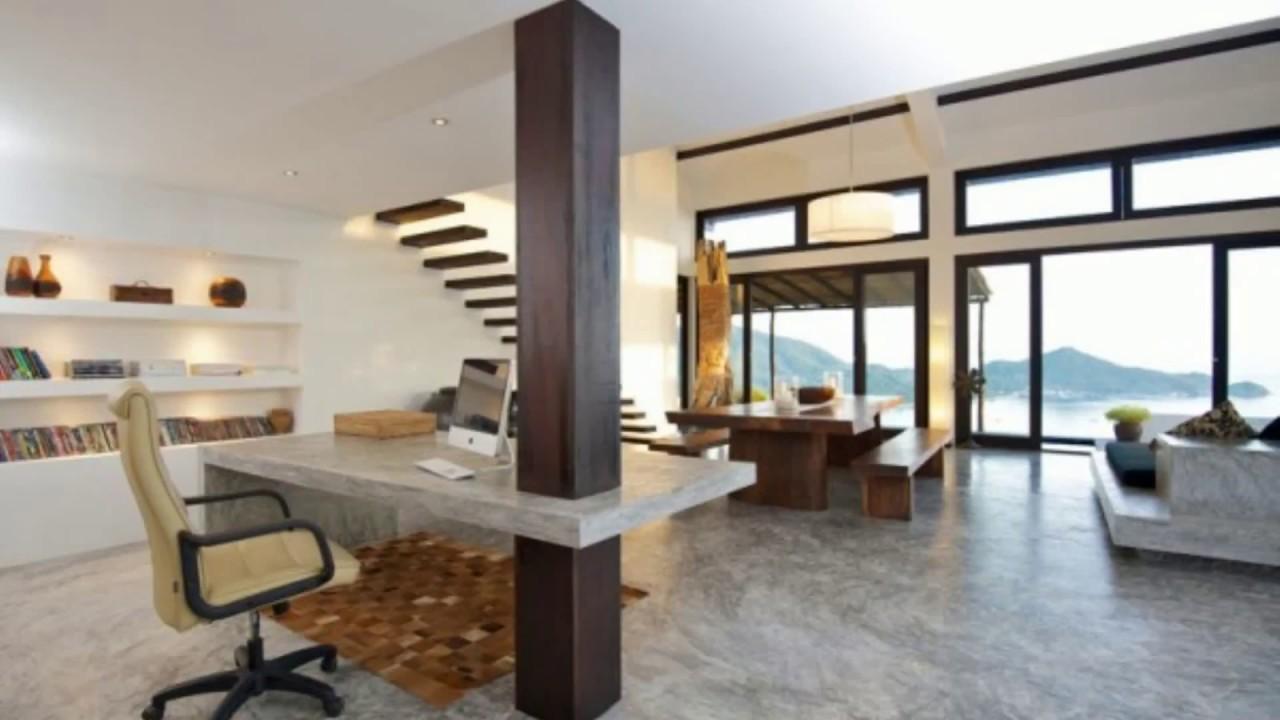 Top 50+ Amazing Modern Concrete Home Ideas 2018