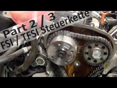 1.4 / 1.6 FSI Steuerkette wechseln Teil 2 / 3 VW Steuerkettenproblem