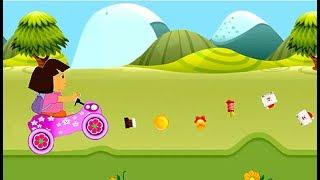 Dora la Exploradora en español - Carrera en el Bosque - Dibujos Animados Infantil