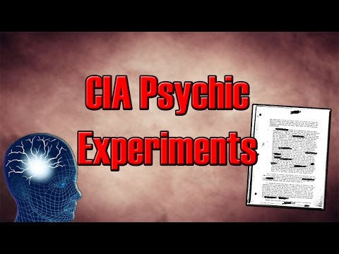 CIA Psychic Experiments - Declassified Documents