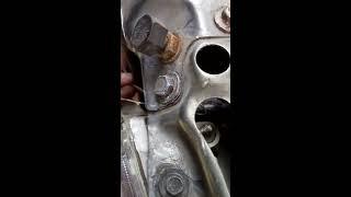 Audi 80 трос капота оборвался