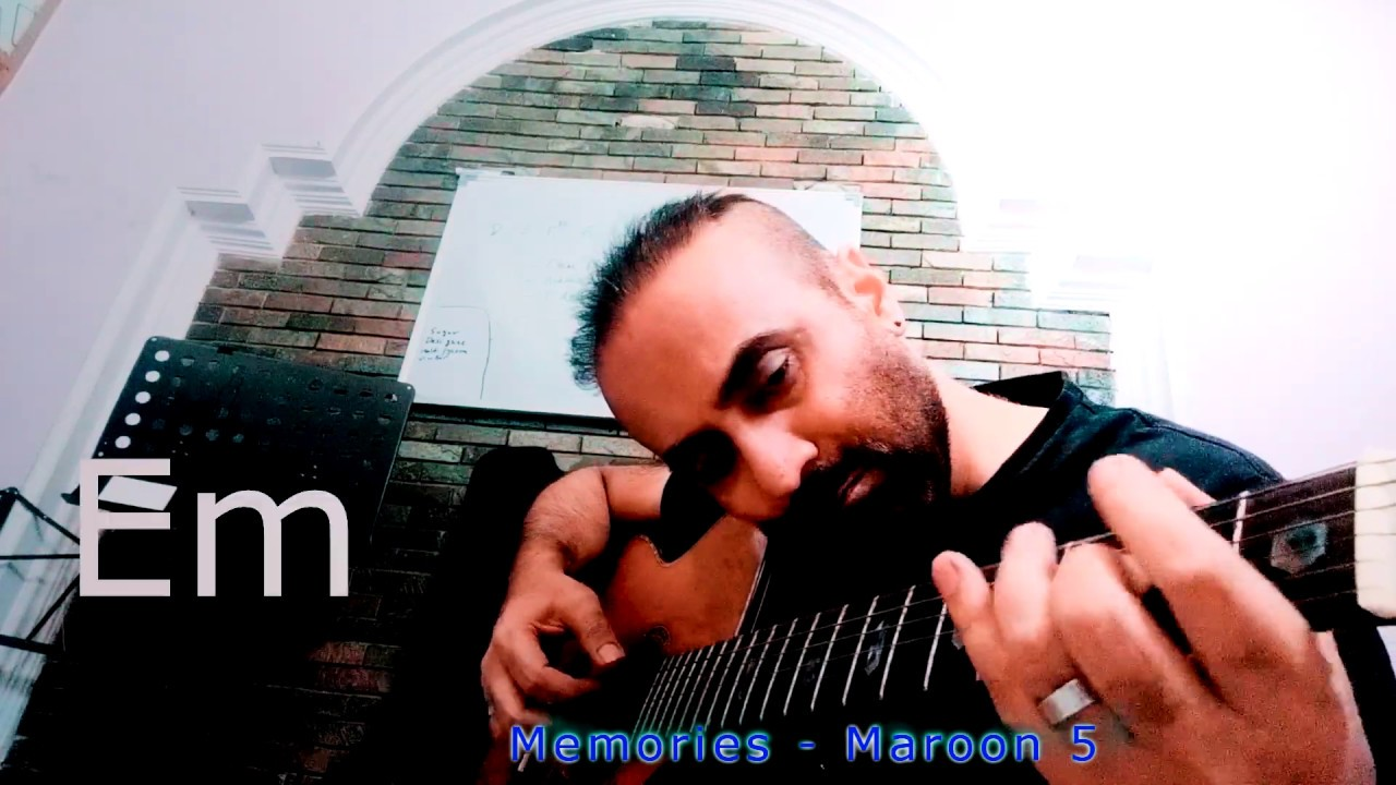 """""""Memories"""" - 'Maroon 5' fingerstyle acoustic guitar cover."""