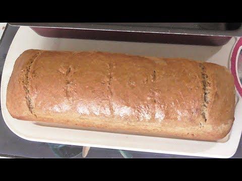 Как я пеку очень простой и быстрый хлеб без дрожжей из цельнозерновой муки
