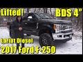 LIFTED 2017 Ford F-250! Powerstroke Diesel!  Full walkaround! 4