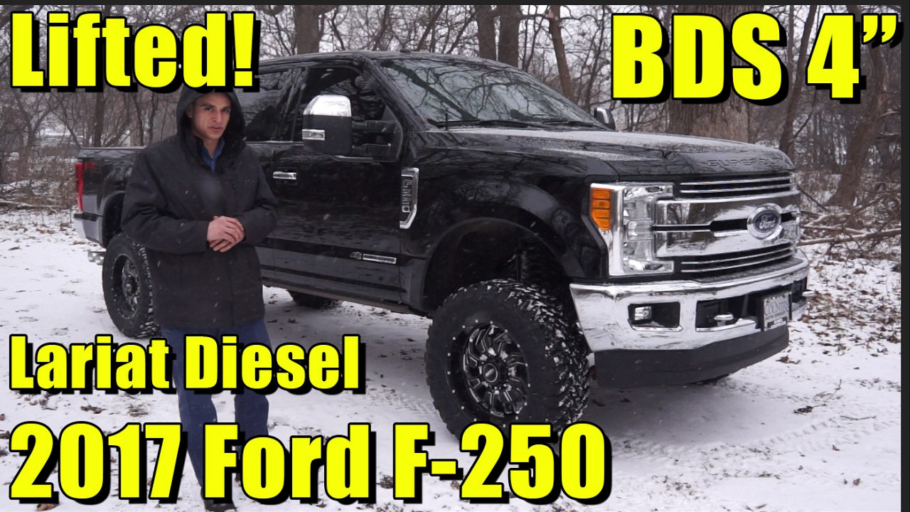 "2017 F250 Lifted >> LIFTED 2017 Ford F-250! Powerstroke Diesel! Full walkaround! 4"" BDS Lift, SOTA Off-Road Wheels ..."