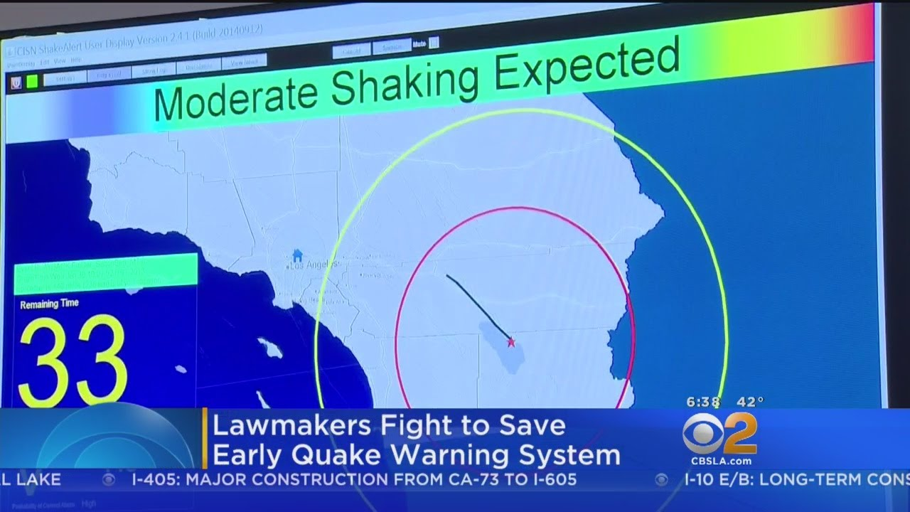 President's Proposed Budget Slashes Funding For Quake Warning System